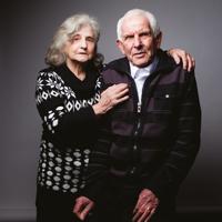 Marceau Berck et sa femme Pâquerette.