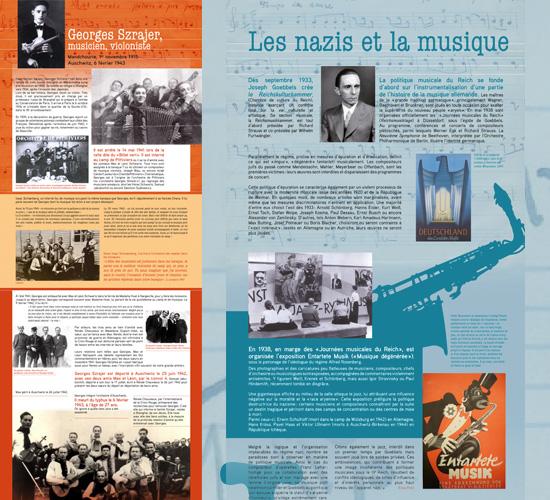 Exposition itinérante La musique internée